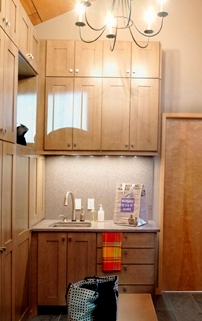 Mudroom Sink Area